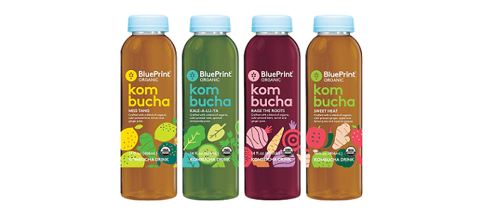 Blueprint trendmonitor drink spotlight blueprint organic launches kombucha drinks malvernweather