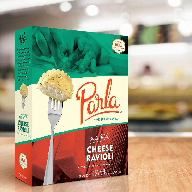 Parla Pasta is heating up the frozen food aisle in Publix.  Coming soon to Lowe's Foods. (PRNewsFoto/Drake's Fresh Pasta Co.)