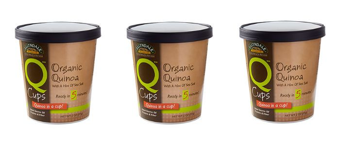 Food Spotlight: NOW Foods Organic Quinoa On the Go Q Cups