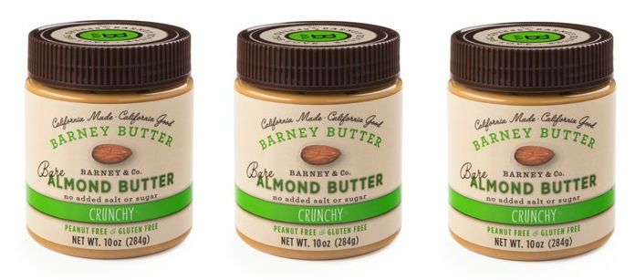 Food Spotlight: Barney Bare Crunch Almond Butter