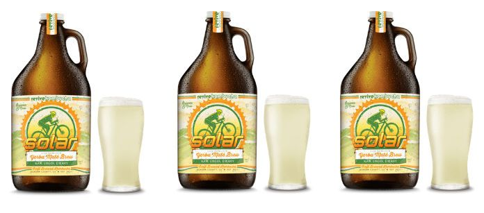 Drink Spotlight: Revive Solar Yerba Mate Kombucha