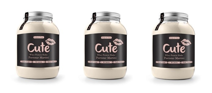 Supplement Spotlight: Cute Nutrition Porn Star Martini Protein