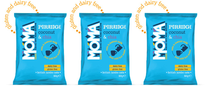 Food Spotlight: MOMA Foods Coconut & Chia Instant Porridge Sachets