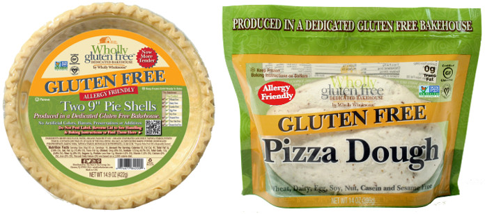 Food Spotlight: Wholly Wholesome Introduces Wholly Gluten Free Pizza Dough and Wholly Gluten Free Pie Shells, Now with Non-GMO Project Verification