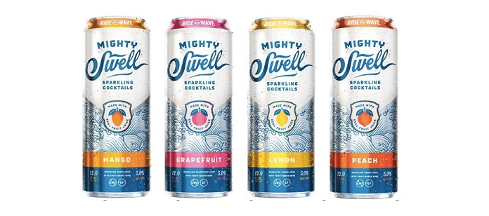Alcohol Spotlight: Austin-Based Mighty Swell Sparkling Cocktails Launches New Tropical-Inspired Flavor