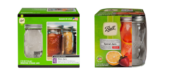 Packaging Spotlight: Beloved Ball® Canning Jars Get New Look For 2017