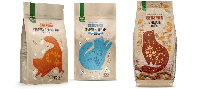 Packaging Spotlight: Senechka nuts &seeds