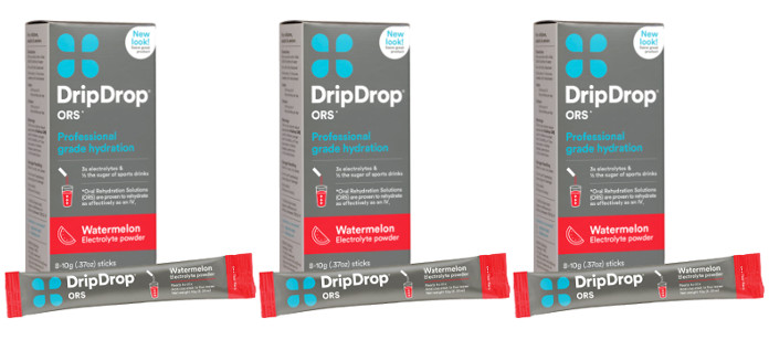 Drink Spotlight: DripDrop ORS Watermelon Electrolyte Powder