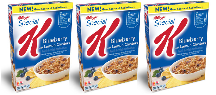 Food Spotlight: Kellogg's Special K Cereal Blueberry with Lemon Clusters