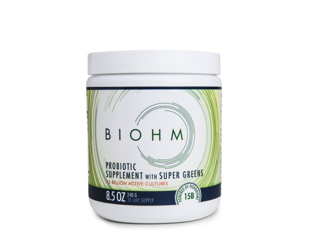 "BIOHM Health launches ""BIOHM Super Greens,"" with a proprietary probiotic featuring beneficial fungus (PRNewsfoto/BIOHM)"