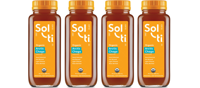 Drink Spotlight: Sol-ti Arctic Chaga Hotbrew Tea