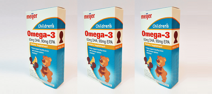 Supplement Spotlight: Anlit Introduces Omega Bites Under the Meijer Children's Brand