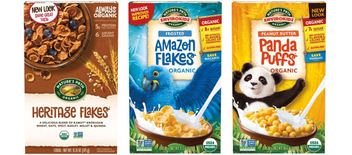 Industry News: ORGANIC INDUSTRY TRAILBLAZER NATURE'S PATH DEBUTS BRIGHT AND BOLD BRANDING