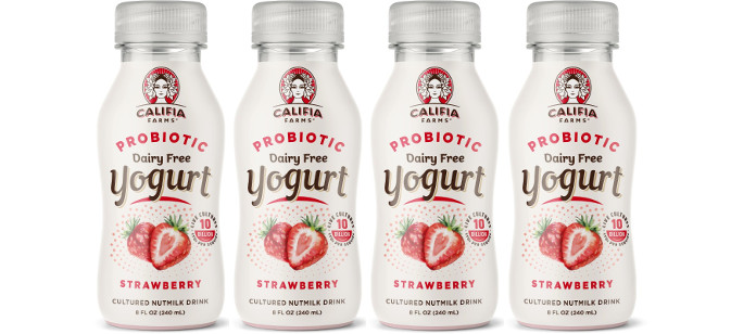 Drink Spotlight: Califia Farms Probiotic Yogurt Drink Strawberry