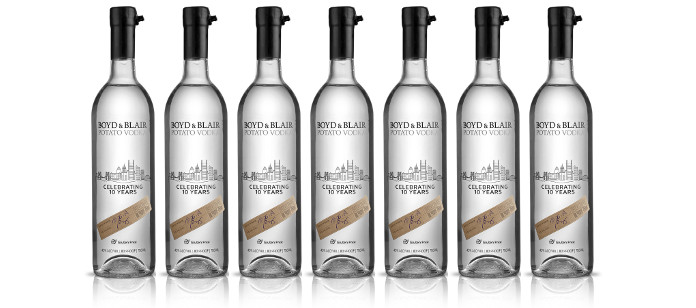 Industry News: Boyd & Blair Potato Vodka Celebrates 10th Anniversary