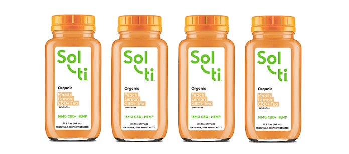 Drink Spotlight: Sol ti Peach Lemon CBD+ Tea