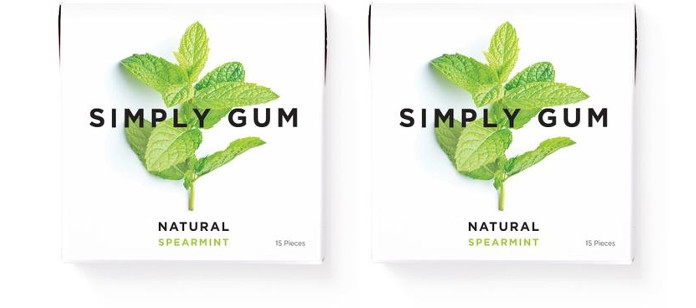 Gum Spotlight: Simply Gum Natural & Biodegradable Mint Gum