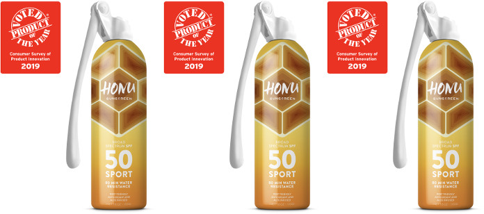 Industry News: STARCO BRANDS' HONUTM SUNSCREEN WINS COVETED PRODUCT OF THE YEAR 2019