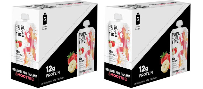 Supplement Spotlight: Fuel For Fire Strawberry Banana Smoothie