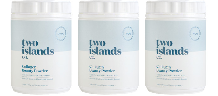 Beauty Spotlight: Two Islands Natural Collagen Beauty Powder