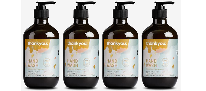 Skin Care Spotlight: Thankyou Botanical Earl Grey & Clary Sage Hand Wash