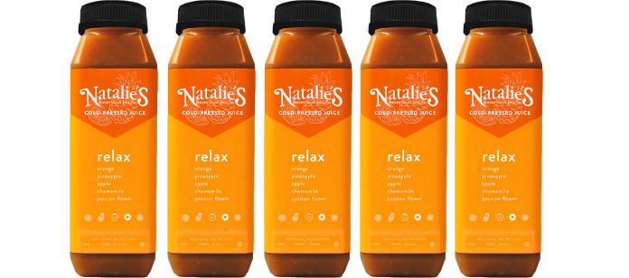 Drink Spotlight: Natalie's Relax Cold Pressed Juice