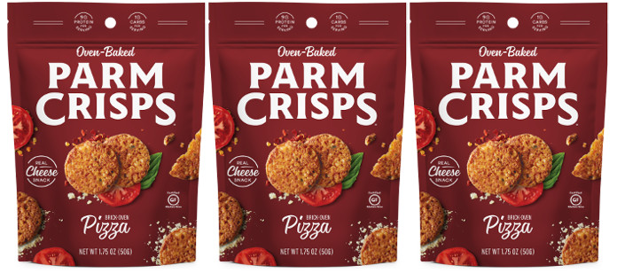 "Industry News: ParmCrisps, ""The Carbless Cracker,"" Launches New Pizza Flavor"