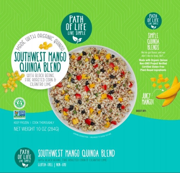 Path of Life's Southwest Mango Quinoa Blend