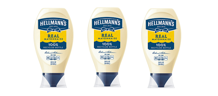 Packaging Spotlight: Hellmann's Commits to Using Recycled Plastic Packaging in Over 200 Million Bottles and Jars by 2020