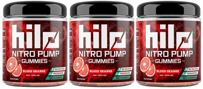 Supplement Spotlight: Hilo Nutrition Nitro Pump Gummies — Blood Orange