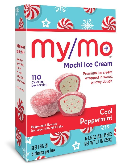 MyMo Mochi Ice Cream Peppermint