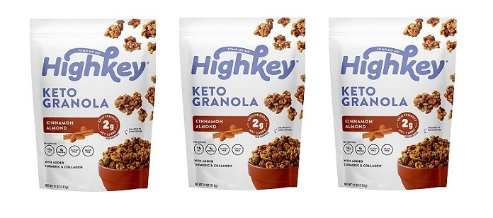 Food Spotlight: Highkey Low Carb, Keto Friendly Granola