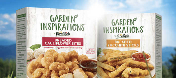 Food Spotlight: Farm Rich Expands 'Garden Inspirations' Line With Restaurant-Style Zucchini, Cauliflower Snacks