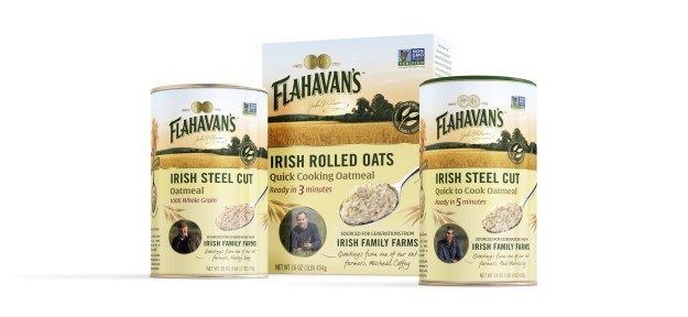 Flahavan's Irish Oats offers three minimally processed varieties in the United States: Irish Steel Cut Oats, Quick to Cook Irish Steel Cut Oats and Irish Rolled Oats.