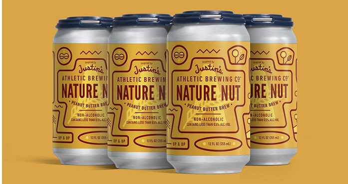 """ATHLETIC BREWING COMPANY AND JUSTIN'S LAUNCH """"NATURE NUT"""" PEANUT BUTTER PORTER TO CELEBRATE EARTH DAY AND GIVE BACK TO THE PLANET"""