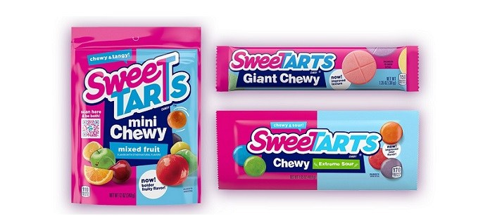 Packaging Spotlight: SweeTARTS® Celebrates Brighter and Bolder Chewy Line