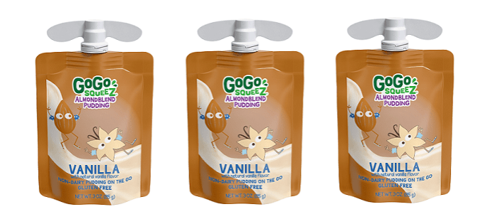 Snack Spotlight: GoGo squeeZ® Reinvents the Pudding Cup with First-to-Market Plant-Based Pudding in a Pouch