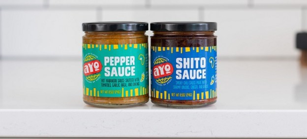 AYO Foods debuts two new hot sauces: Shito and Pepper Sauce.
