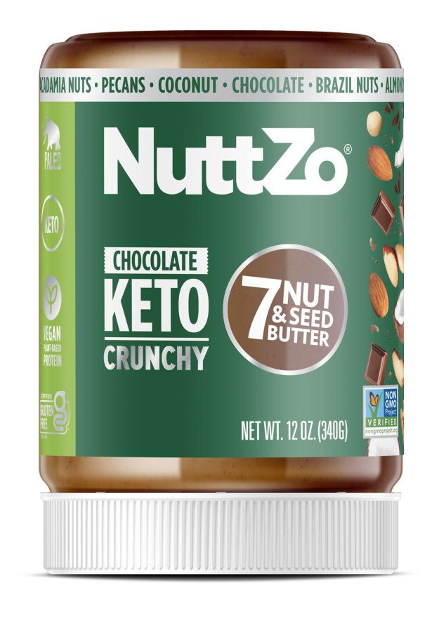 NuttZo's Keto Chocolate Seven Nut & Seed Butter