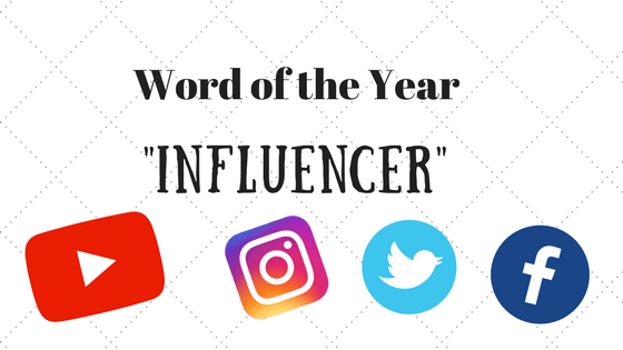 "Language experts choose ""Influencer"" as the word of the Year"