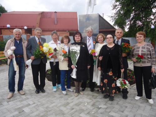 2017 - Открытие памятника А.С. Пушкину в г Богородицк.