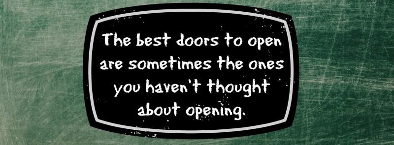 2- The best doors to open