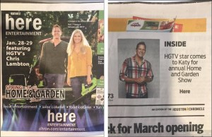 featured print coverage in popular newspapers