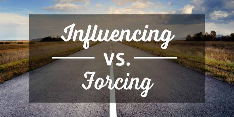 Influencing Forcing