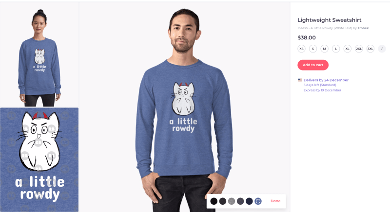 Meesh_Merch_Rowdy_Sweatshirt_Redbubble