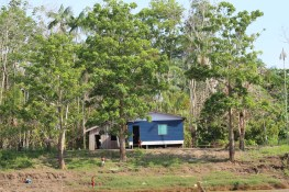 House in the Trocano Project area