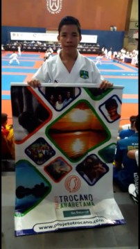 Ryan Christian at WKF