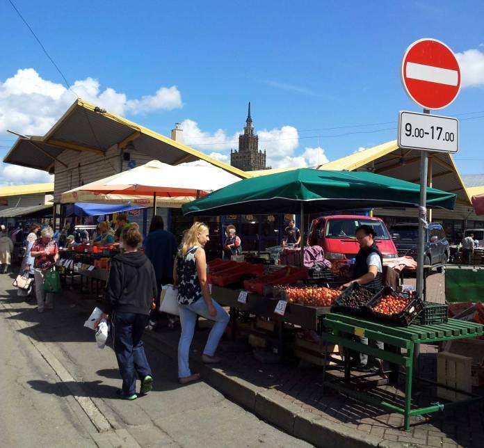 Zentralmarkt Riga, Riga2014, Lettland
