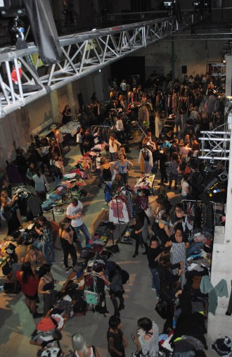 Fashion Session München Flohmarkt