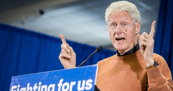 Bill Clinton Probably Won't Be Making Any More Speeches ...